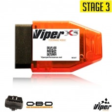 Viper X3 Performance Chip Sprint Throttle Booster Programmer Module OBD +30HP - Gasoline / Petrol or Diesel